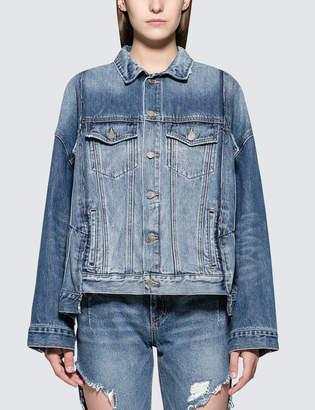 Sjyp Pocket Detailed Denim Jacket