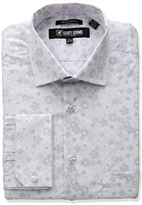 Stacy Adams Men's Floral Dress Shirt