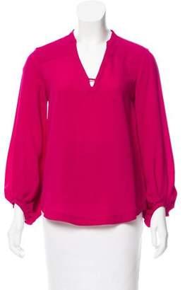 Diane von Furstenberg Tanyana Clean Silk Top
