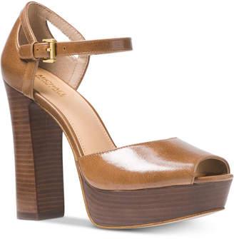 Michael Kors Blake Platform Sandals