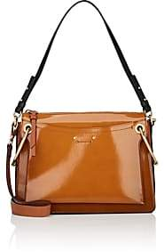 Chloé Women's Roy Medium Leather Shoulder Bag-Camel