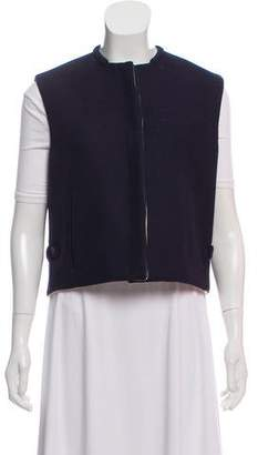 Burberry Structured Wool Vest