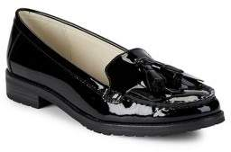 Anne Klein Batilda Tassel Patent Leather Loafers