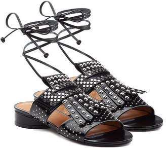 Robert Clergerie Embellished Leather Sandals
