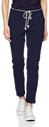 Tom Tailor Women's Chino with Belt Trousers,W26/L30