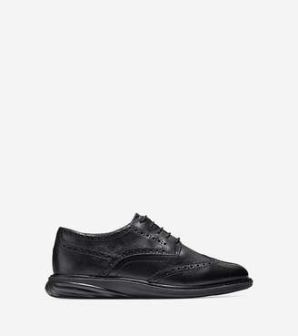 Cole Haan Women's GrandEvølution Waterproof Wingtip Oxford