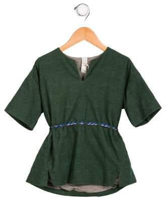 Tia Cibani Girls' Belted Tunic