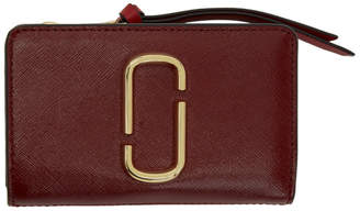 Marc Jacobs Red Snapshot Compact Wallet