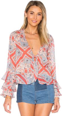 Tularosa Winnie Blouse $138 thestylecure.com