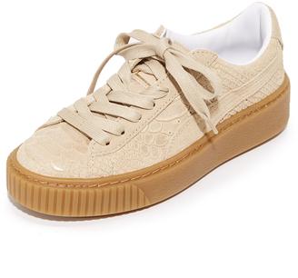 PUMA Platform Sneakers $120 thestylecure.com