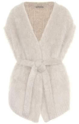 Bottega Veneta Sleeveless wool-blend cardigan
