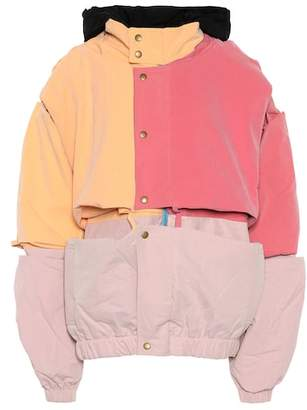 Y/Project Paneled cotton-blend jacket
