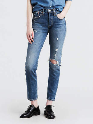 Levi's 501 Button Your Fly Skinny Jeans
