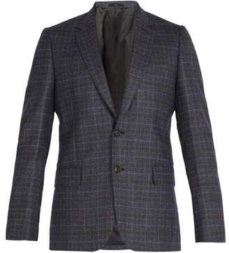 Paul Smith Soho Slim Fit Wool Suit Jacket - Mens - Blue Multi