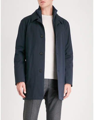 Corneliani Layered wool and cotton-blend jacket