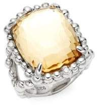 Michael Aram Molten Quartz & Sterling Silver Statement Ring