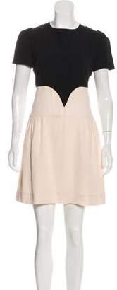 Victoria Beckham Victoria Trompe L'oeil Mini Dress