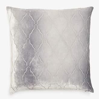 Kevin OBrien Kevin O'brien Arches Velvet Pillow Silver