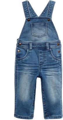First Impressions Denim Overalls, Baby Boys, Created for Macy's