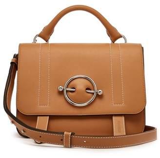 J.W.Anderson Disc Leather Satchel Bag - Womens - Tan