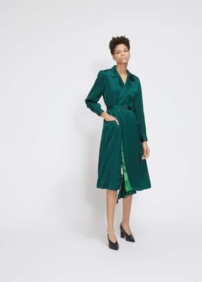 TOGA Archives Satin Wrap Dress