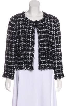 Chanel Lesage Gingham Jacket