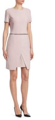 Emporio Armani Tailored Studded Dress