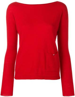 Liu Jo fitted knitted top