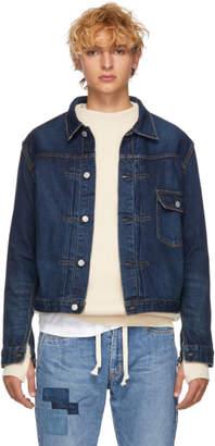 Remi Relief Blue Denim Jacket