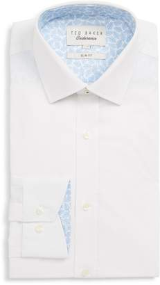 Ted Baker Sppotz Trim Fit Dot Dress Shirt