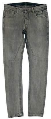 Rick Owens Detroit Cut Skinny Jeans