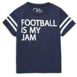 Chaser Toddler's, Little Boy's& Boy's Football Is My Jam Tee