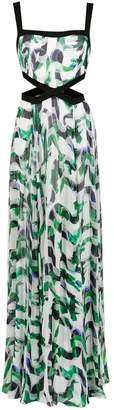 Tufi Duek long printed dress