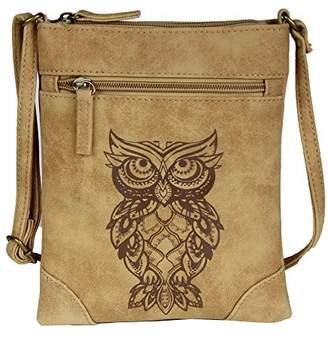 Co Folie Mini Crossbody Bag - Vegan Leather Suede Festival Handbag