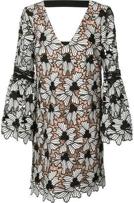 Nicole Miller patterned shirt dress $550 thestylecure.com