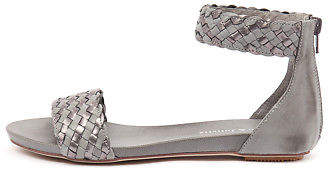 Django & Juliette New Gamree Grey Light Pewter Womens Shoes Casual