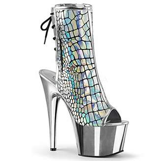 feb94e2b7b7 Pleaser USA Women s Adore-1018HG Ankle Boot