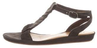 Coclico Suede Ankle Strap Sandals