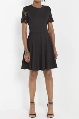 Soprano Little-Black Detail Dress