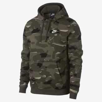 Nike Sportswear Club Men's Camo Pullover Hoodie