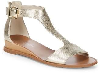 Kenneth Cole Women's Jaddice Metallic Leather Sandals