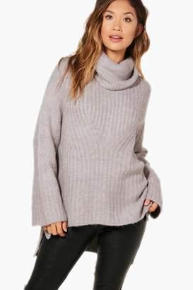 boohoo Rib Knit Premium Jumper