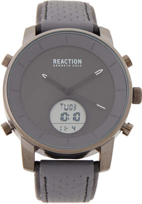 Kenneth Cole Reaction RK50083014 Gunmetal-Tone & Grey Analog-Digital Watch