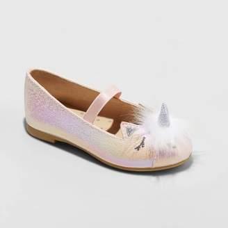 Cat & Jack Toddler Girls' Lura Ballet Flats Pink