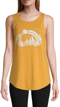 ST. JOHN'S BAY SJB ACTIVE Active Graphic Tank - Tall