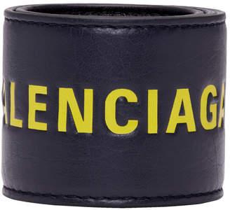 Balenciaga Black and Yellow Cycle Bracelet
