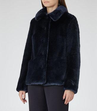 Alexia Faux Fur Coat $615 thestylecure.com