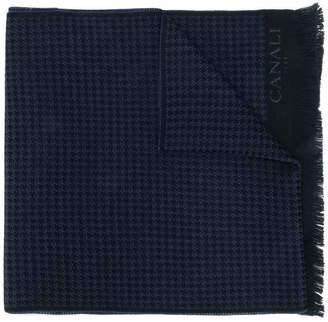 Canali houndstooth scarf
