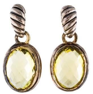 David Yurman Quartz Drop Earrings