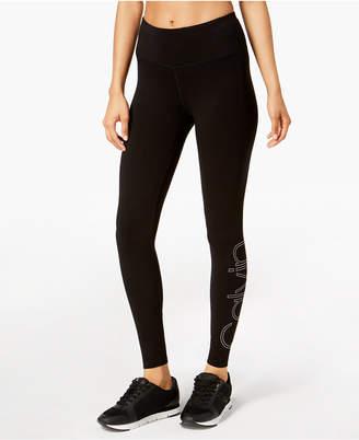 Calvin Klein High-Waist Logo Leggings